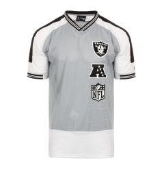 NEW ERA 12195317 NFL STACKED LOGO OS TEE OAKRAI T-SHIRT K/ 12195317