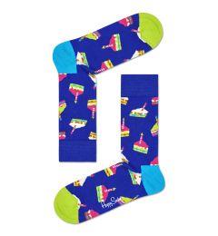 HAPPY SOCKS Bday Cake Sock BCS01 ΚΑΛΤΣΑ ΜΕΣΑΙΑ