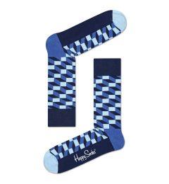 HAPPY SOCKS Filled Optic Sock FIO01 ΚΑΛΤΣΑ ΜΕΣΑΙΑ
