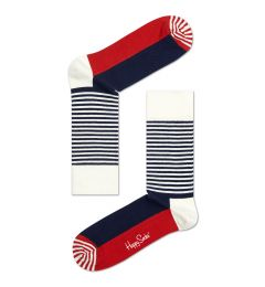 HAPPY SOCKS Half Stripe Sock SH01