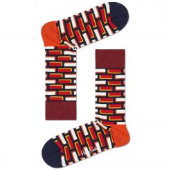 HAPPY SOCKS Brick Sock BRC01 ΚΑΛΤΣΑ ΜΕΣΑΙΑ