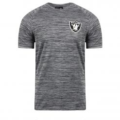NEW ERA 12195336 NFL ENGINEERED RAGLAN OAKRAI D T-SHIRT K/ 12195336