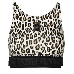 PUMA 596855 PUMA x CO AOP Crop Top ΜΠΟΥΣΤΟ 596855