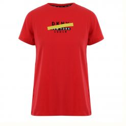DKNY STRIKE OUT LOGOCREW NECK TEE DP0T7318