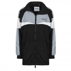 DKNY REFLECTIVE COLOR BLOCKED WINDBREAKER DP9J8640