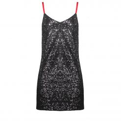 DKNY OMBRE SEQUIN DRESS P9JBEDLX