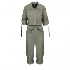 DKNY BTN FRONT BELTED JUMPSUIT P9JZ0DQM