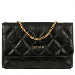 DKNY SOFIA - DIAMOND STITCH CLUTCH CROSSBODY R93GRE20 CROSS BODY