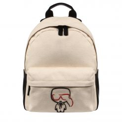 KARL LAGERFELD K/OKONIK CANVAS BACKPACK 201W3059 BACKPACK