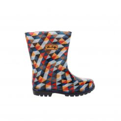 BE ONLY Mosaiki Kid Flash rainboots BOTTEMOSAIKI MID